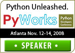 PyWorks Speakers Badge